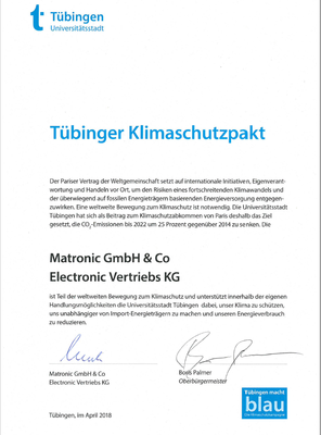 Tübinger Klimaschutzpakt